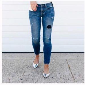 J crew toothpick jeans sz 28 ~26-26.5'  inseam